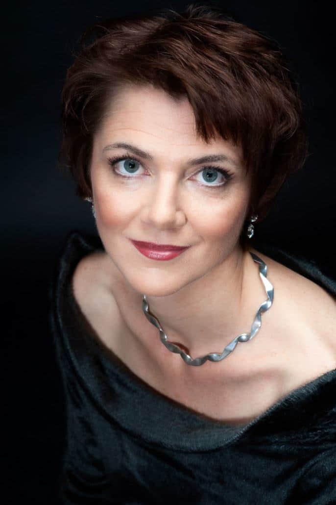 Portraitfoto einer Sängerin