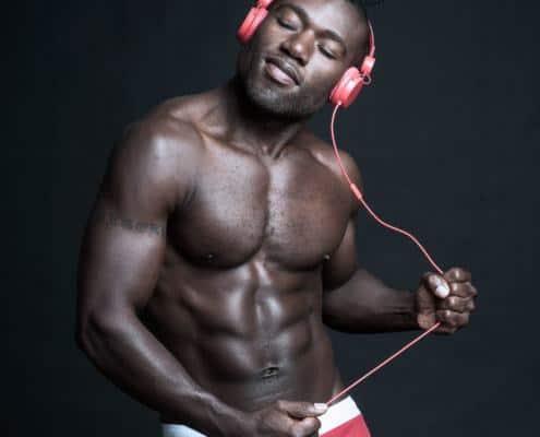 Promotionsfoto für einen DJ